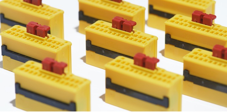 Close up image of yellow ATL Series on a white background