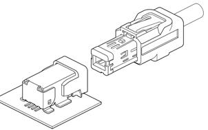 Schematic photo of ASU Connector