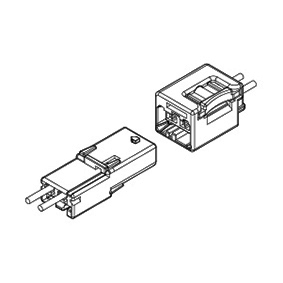 Schematic photo of BAB Connector