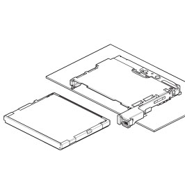 Schematic photo of CFF Connector