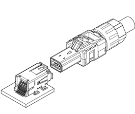 Schematic photo of CIF Connnecor