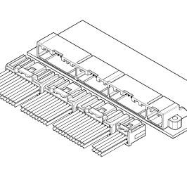 Schematic photo of CPI Connector