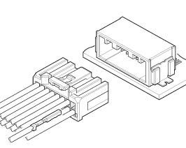 Schematic photo of CPT Connector