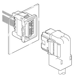 Schematic photo of DAC Connector
