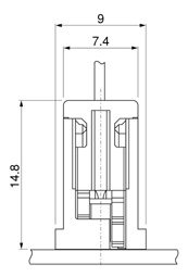 Schematic photo of DIM Connector