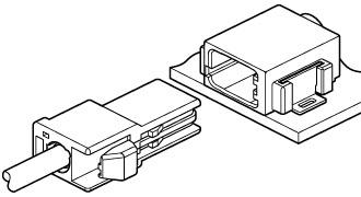 Schematic photo of EA1 Connector