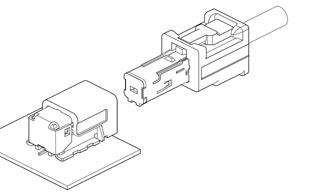 Schematic photo of EA2 Connector