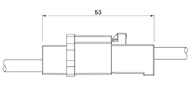 Schematic photo of FAH Connector