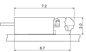 Schematic photo of FHH Connector