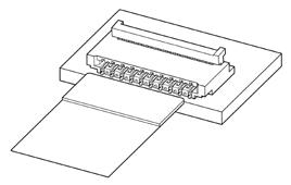 Schematic photo of FXRH Connector