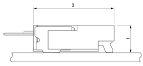 Schematic photo of FZA Connector