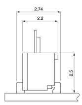 Schematic photo of FZC Connector