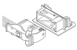 Schematic photo of GIT Connector (18P type)