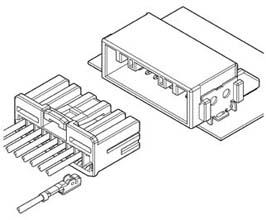 Schematic photo of HCH Connector