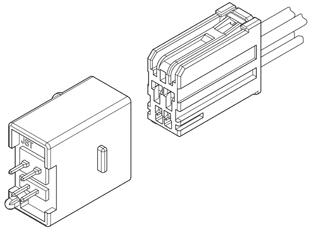 Schematic photo of HSDP Connector