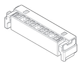 Schematic photo of HVD Connector