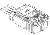 Schematic photo of HVGT Connector