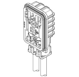 Schematic photo of HVGW Connector