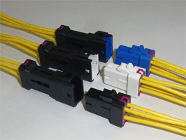 Close up image of JWPS connector (W to W)