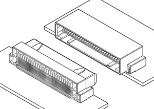 Schematic photo of JXV Connector