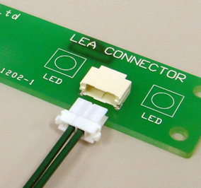 Close up image of LEA Connector