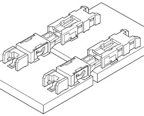 Schematic photo of LEL Connector