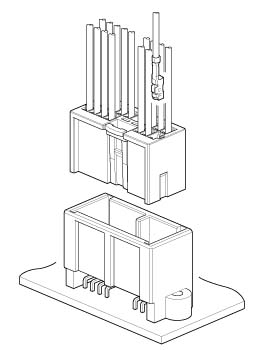 Schematic photo of MIO Connector