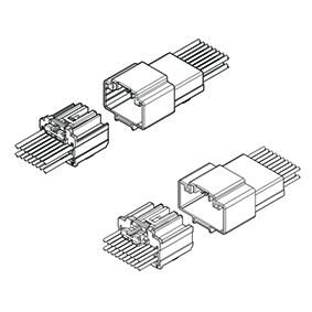 Schematic photo of MSA Connector