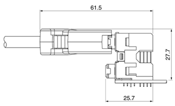 Schematic photo of MS Connector