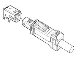 Schematic photo of MUF Connector