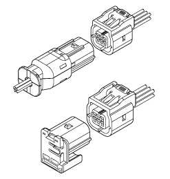 Schematic photo of MWT Connector