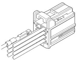 Schematic photo of NAC-I Connector