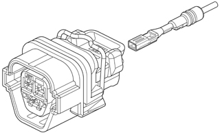 Schematic photo of NFG Connector