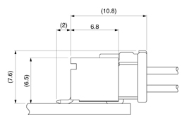 Schematic photo of PBD connector