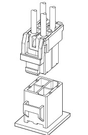 Schematic photo of PEA Connector