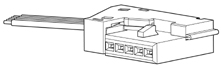 Schematic photo of PFW Connector