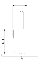 Schematic photo of PSI Connector (High Current Specification D Type)