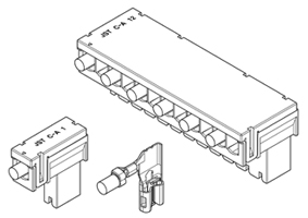 Schematic photo of RARSF Connector