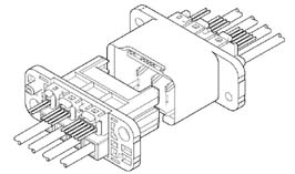 Schematic photo of RIC Connector