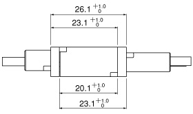 Schematic photo of RIZ Connector L-Type