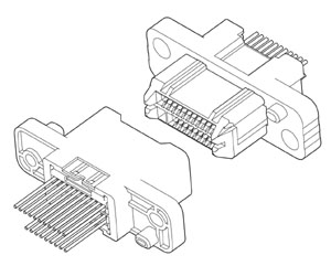 Schematic photo of RWM Connector