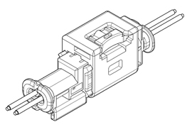 Schematic photo of SAB Connector