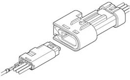 Schematic photo of SAC Connector