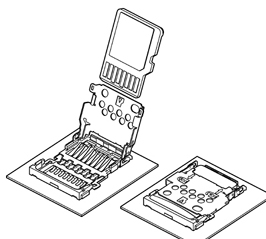 Schematic photo of SDHK Connector