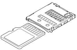 Schematic photo of SDHR Connector