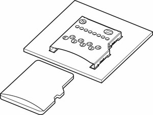 Schematic photo of SDHT Connector