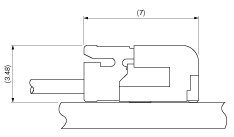 Schematic photo of SFG Connector