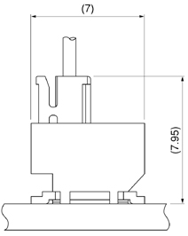 Schematic photo of SFV Connector