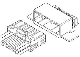 Schematic photo of SHC Connector