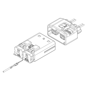 Schematic photo of SISC Connector